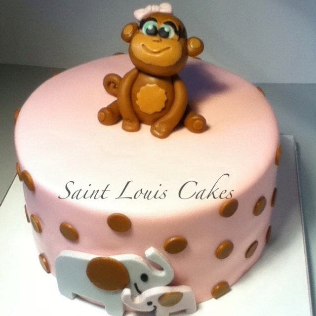 Baby shower cake by Jillian at Saint Louis Cakes http://m.facebook.com ...