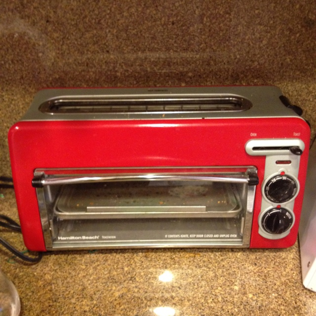 Countertop Oven Red : Oven: Red Toaster Oven