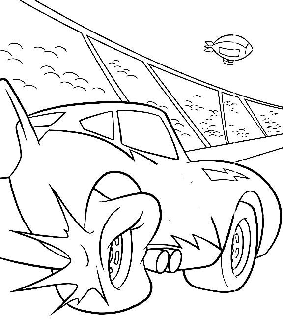 tire coloring pages - flat tire coloring with cars coloring pages