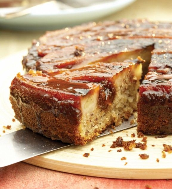 Grilled Banana Upside-down Cake: Grilled bananas bring a sweet ...