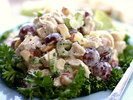 ... of recipes for chicken salad but this one is the best of the best