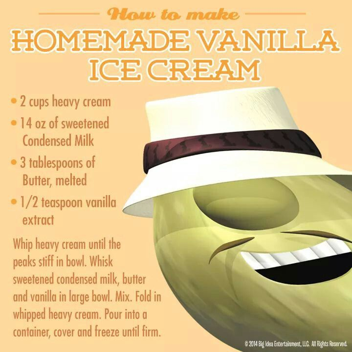 Ice cream without an ice cream maker. | yumm...sweets | Pinterest