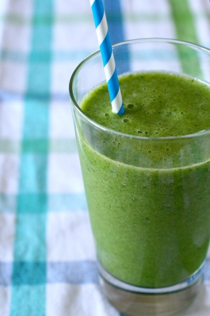 Skinny Green Monster Smoothie Recipe — Dishmaps