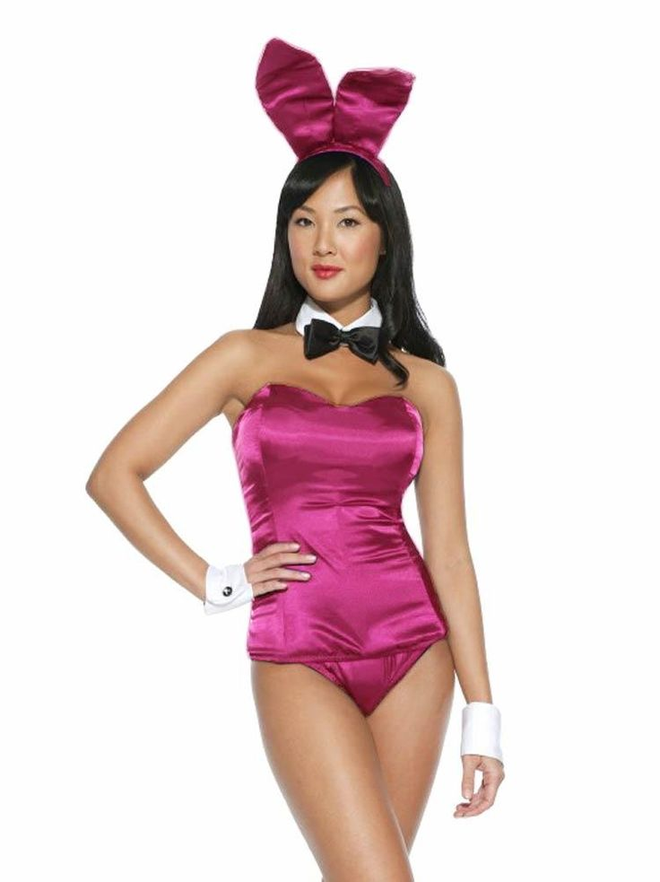 playboy bunny costume fuchsia costumes pinterest. Black Bedroom Furniture Sets. Home Design Ideas
