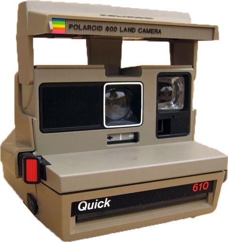 Polaroid 600 camera quick 610 instant film cameras pinterest