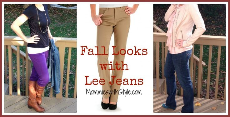 I wear jeans literally every...single...day! #LeeLooks Lee Jeans for the Fall, under $50 #FashionFriday