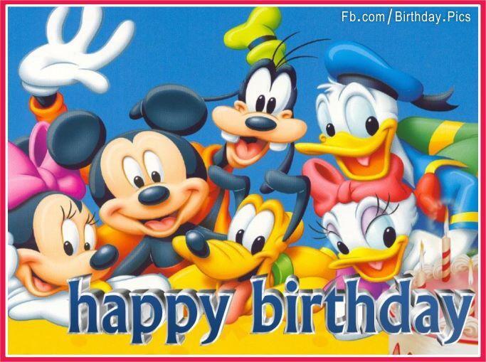 Disney Birthday Wishes For Friend ~ Disney happy birthday love pinterest