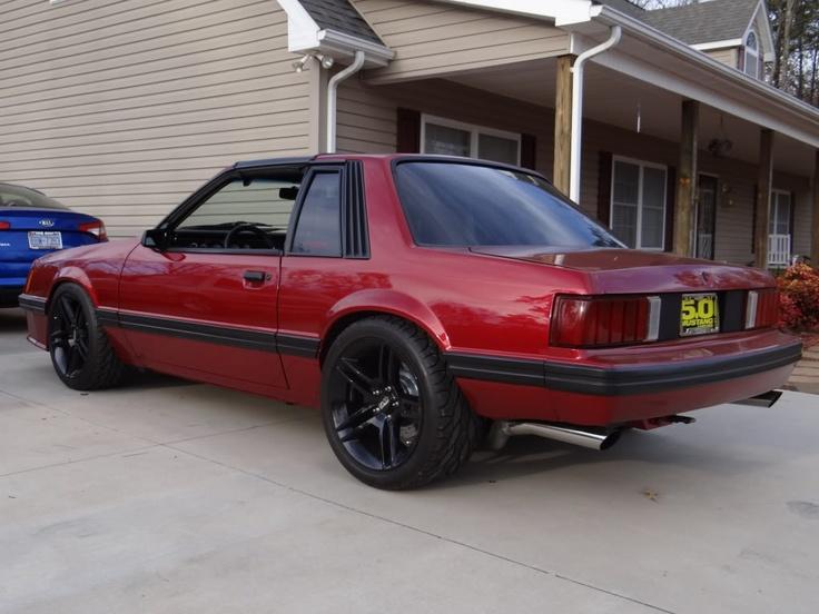 91 Coupe Fox Body Mustangs 79 93 Pinterest