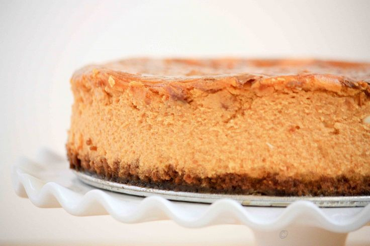 Biscoff Pumpkin Cheesecake Recipe | Pumpkin Pumpkin Pumpkin! | Pinter ...