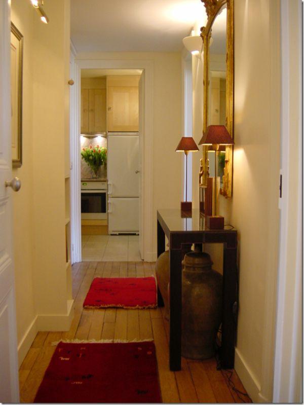 Small hallway design ideas | SMALL HOUSE ADDICT | Pinterest