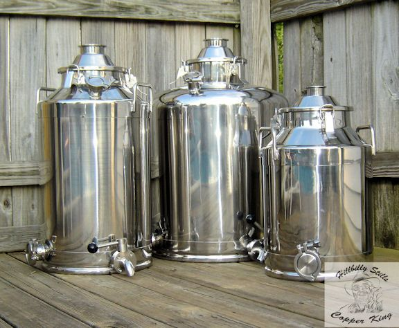 "Milk Can ""Boilers"" | Mash Pots | Milk Can Stills | Distillations Boilers | Distilling Boilers"