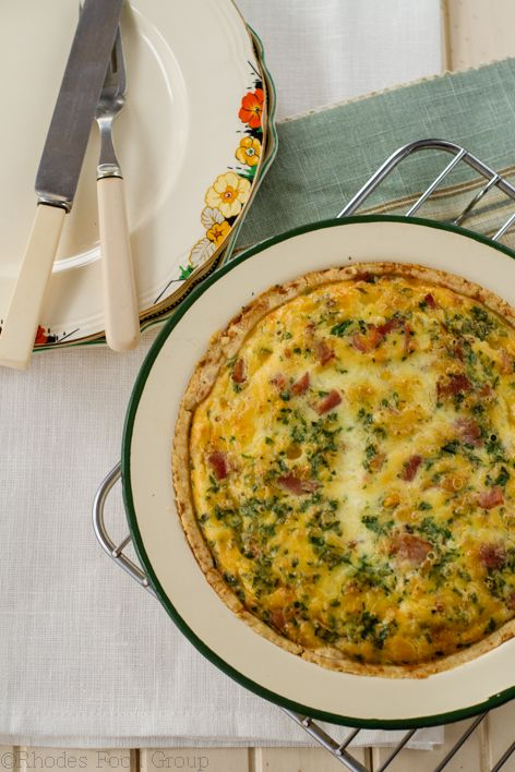 corn and bacon quiche | yummy stuff | Pinterest