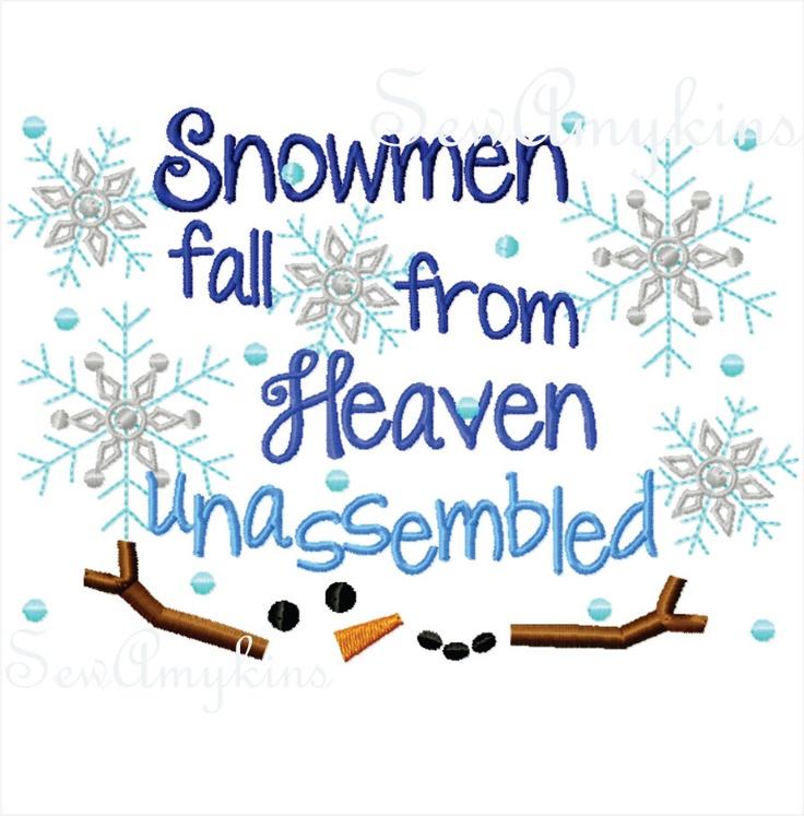 ♥ Snowmen