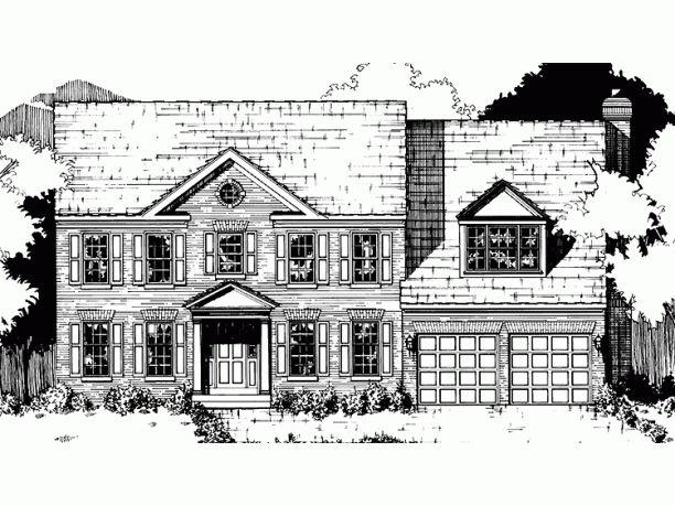 Add A Third Car Garage And Full Basement House Plans