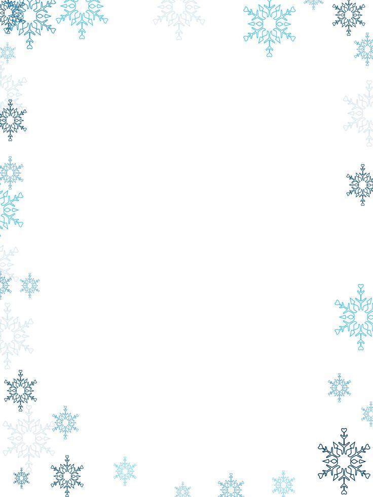 winter border feature | Winter Wonderland | Pinterest