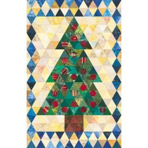 Advent Tree Quilt Pattern | Quilts | Pinterest