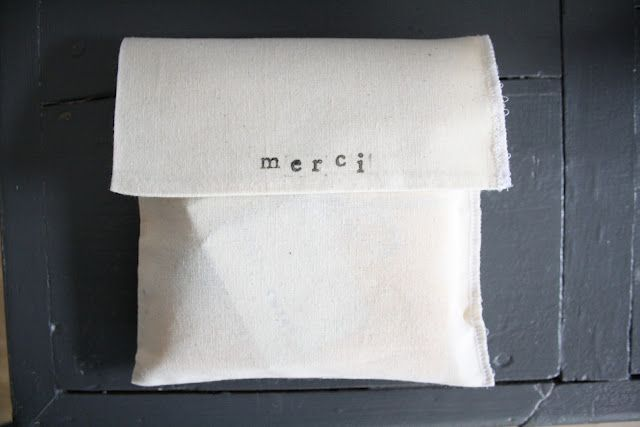 """merci"" simple wrap"