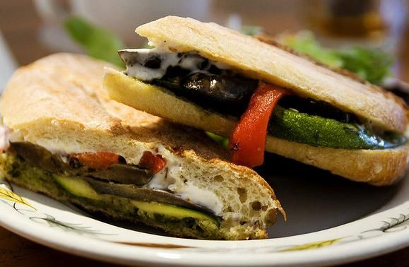 Grilled Veggie Sandwich with Marinade Recipe