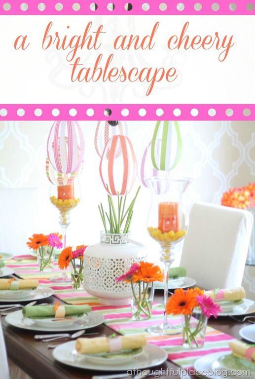 Tablescape It Is A Girl Baby Shower Ideas Pinterest