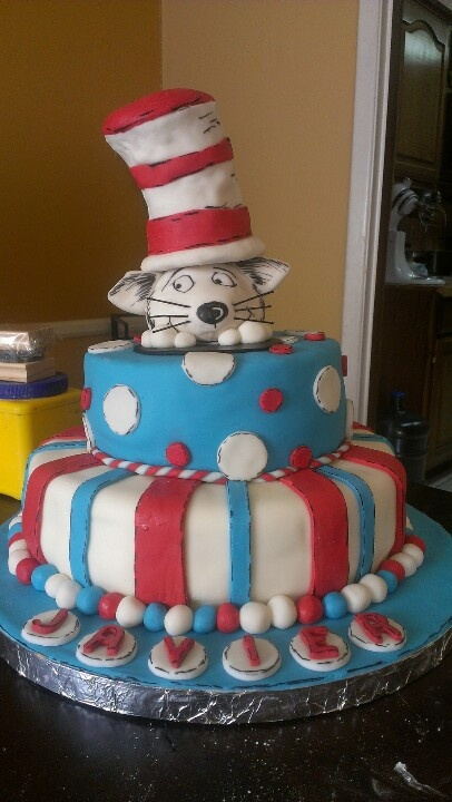 Cat in the hat | Party Ideas | Pinterest
