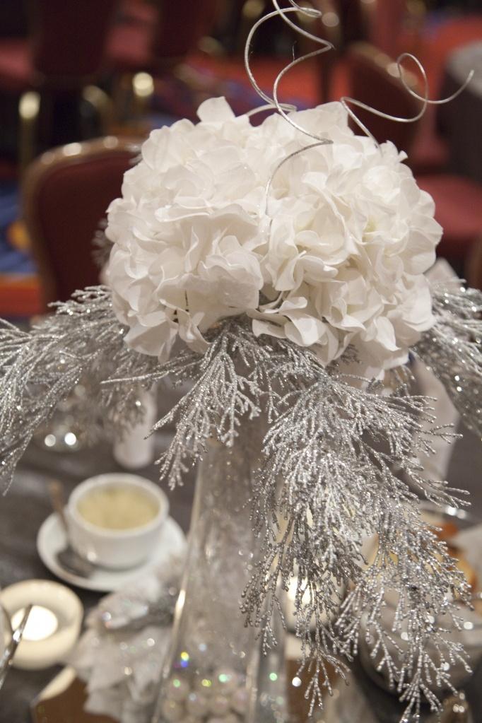 Winter wonderland centerpieces craft time pinterest