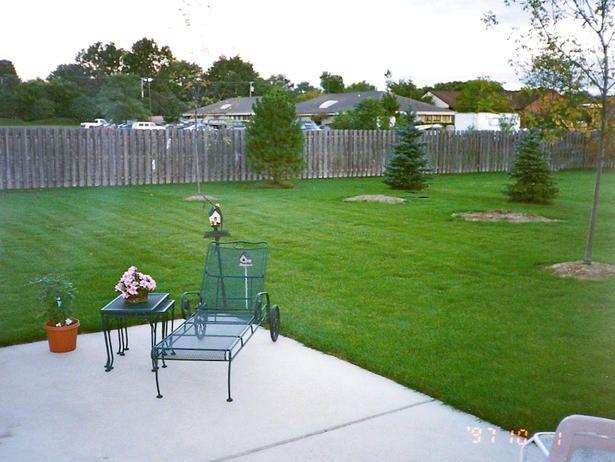 Backyard Lawn Before Makeover  Show landscaper  Pinterest