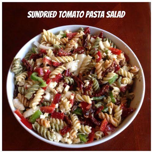 Sundried Tomato Pasta Salad | http://motherhoodraandme.blogspot.com ...