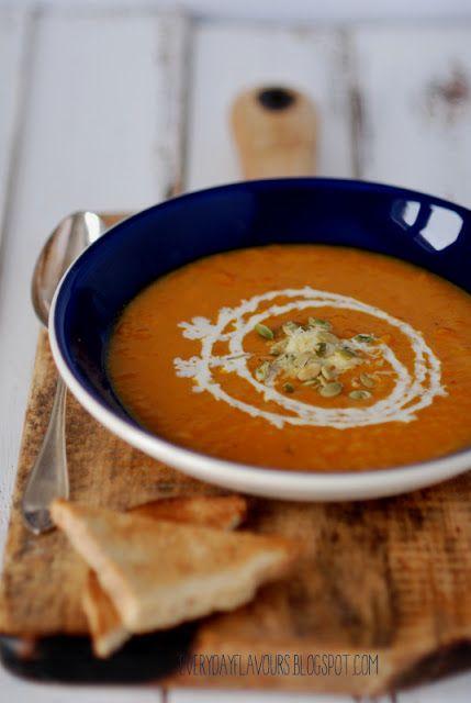 Pumpkin soup with Gruyere. | Soups | Pinterest