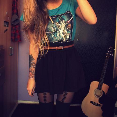 Фото на аву для девушек рок