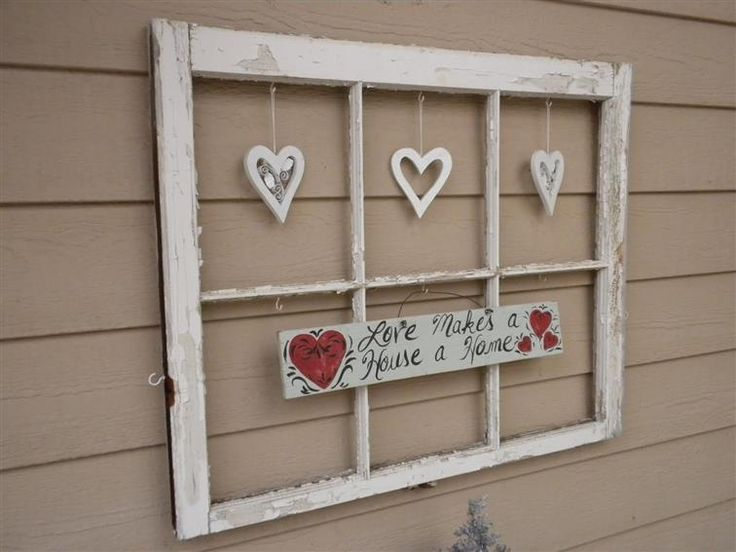 Bing old window crafts crafts pinterest for Old window panes craft ideas