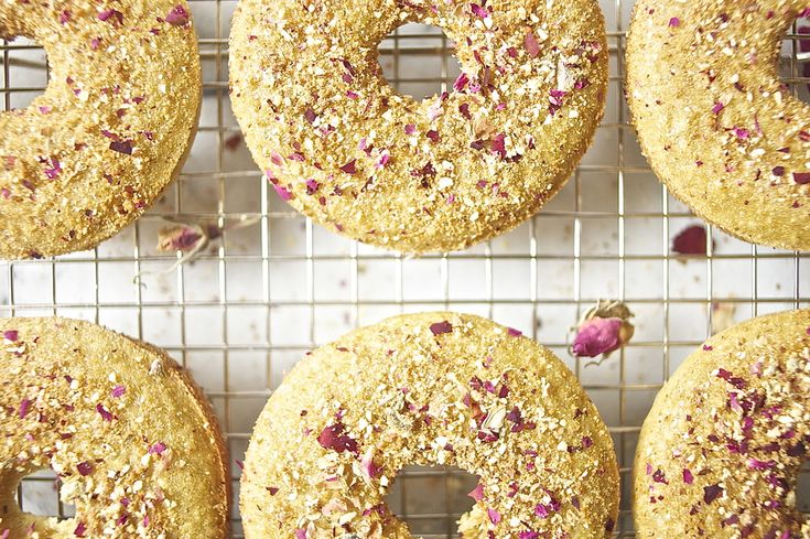 Roses And Pearls Vanilla Bean Gluten Free Donut Recipe — Dishmaps