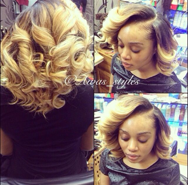 Go Back > Gallery For > Curly Bob Weave