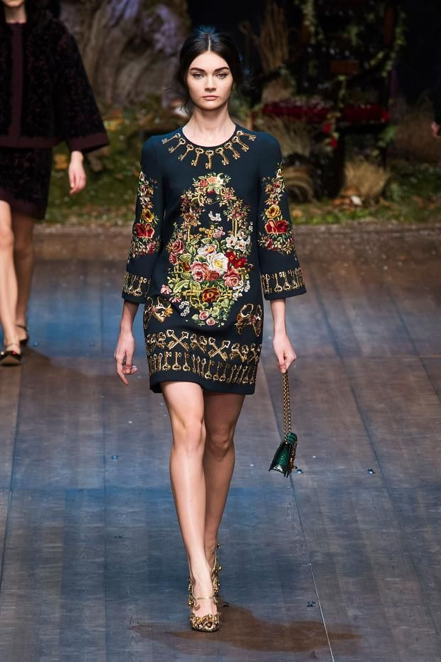 Dolce & Gabbana осень 2014