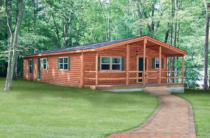 Interor Of Double Wide Log Cabin Mobile Homes Joy Studio