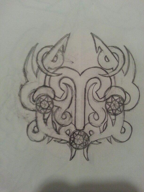 Aries Birthstone Tattoo  My Tattoos Pinterest