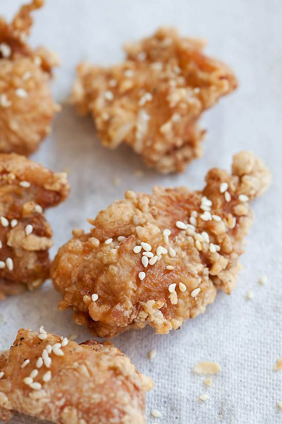 Japanese Fried Chicken Recipe. Crispy, juicy, and crazy delicious ...