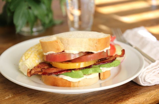 Bacon, Avocado & Heirloom Tomato Sandwich by Everyday Occasions by ...
