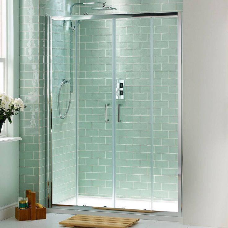 V6 sliding shower door 1400 with sealant house pinterest for 1400 sliding shower door