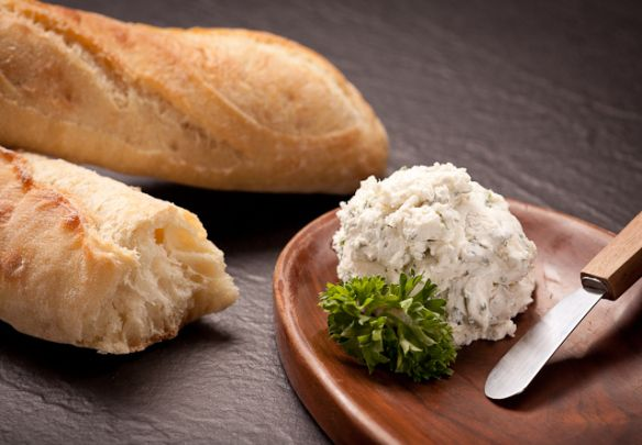 Herbed Goat Cheese Spread with Mint | Recipe