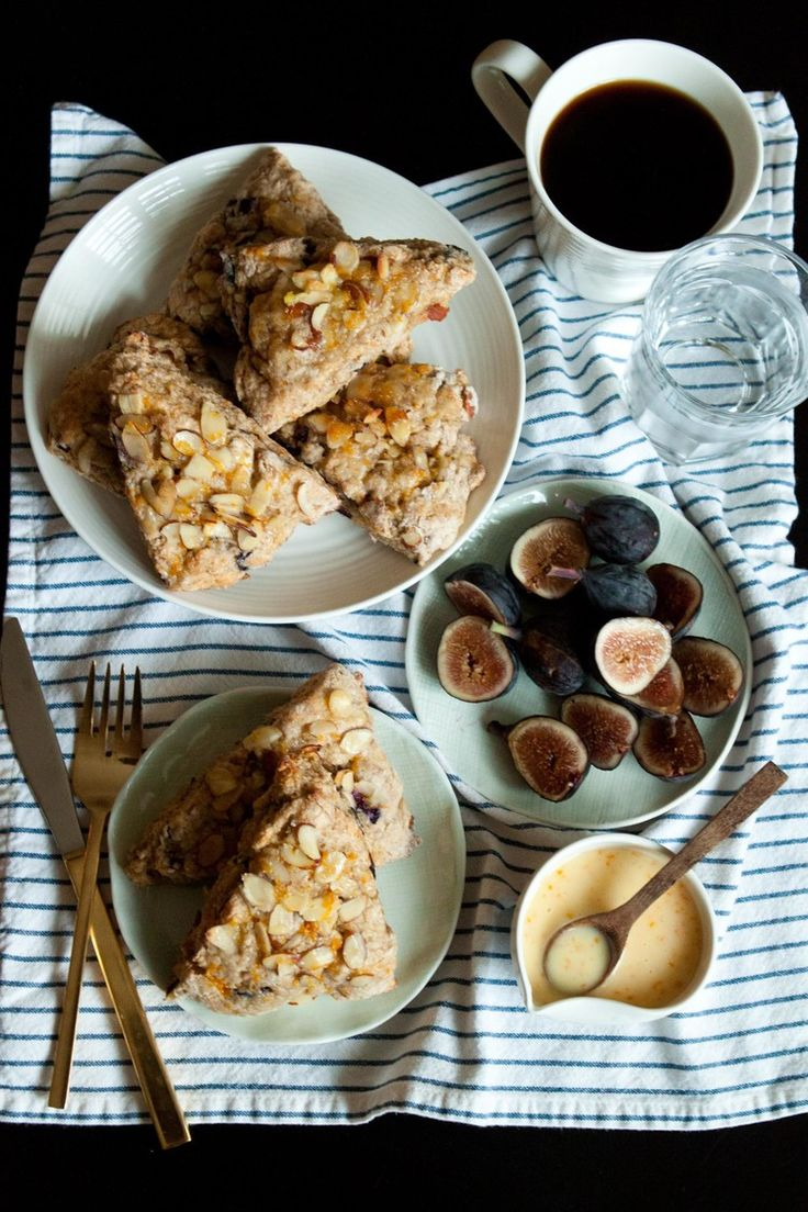 Fig Orange Almond Scones : Passports and Pancakes (GREEK YOGURT GO TO ...