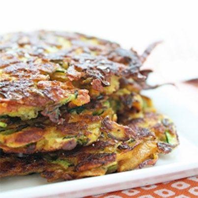 Zucchini & Sweet Potato Latkes | Yummy | Pinterest