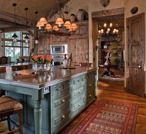 Lake decor lake house decorating ideas design decor for Lake house kitchen designs