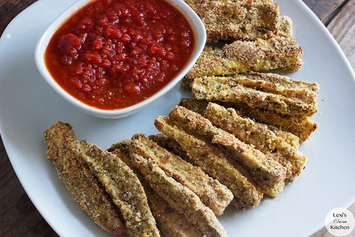 Oven-Baked Eggplant Fries | Recipe