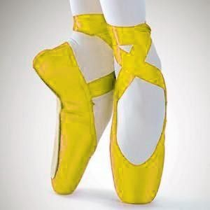 yellow pointe shoes who do you think you are imelda