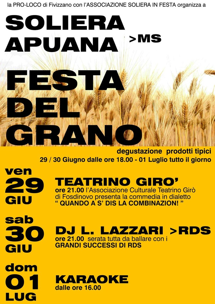 Festa del Grano June 2012