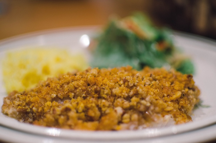 The Front Porch: Pecan Crusted Catfish | Yummy | Pinterest