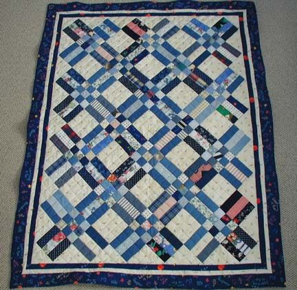 Quilt Pattern Split Rail Fence : Nine Patch And Rail Fence Quilt Pattern - palprogram