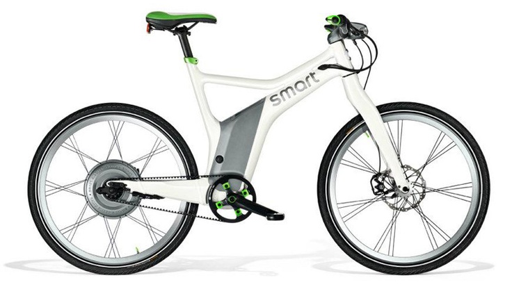 Mercedes benz smart electric bike electric bike study for Mercedes benz bicycle