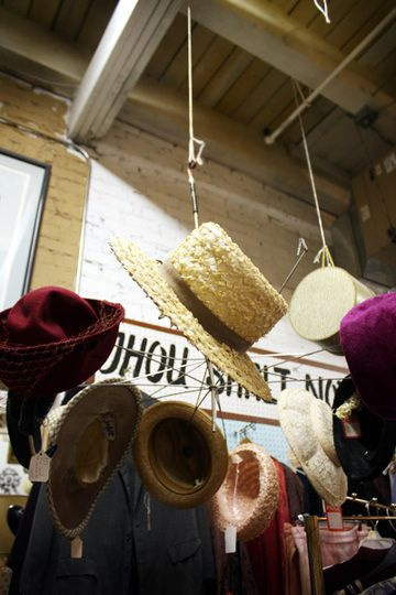 Ceiling hat hanging