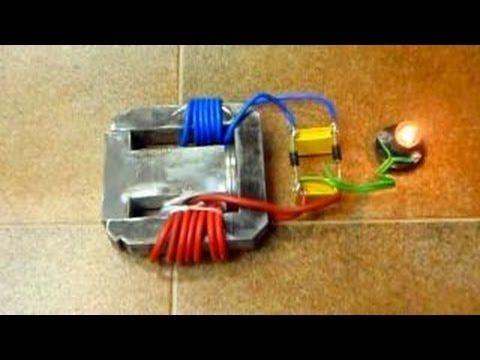 Генератор энергии на магните